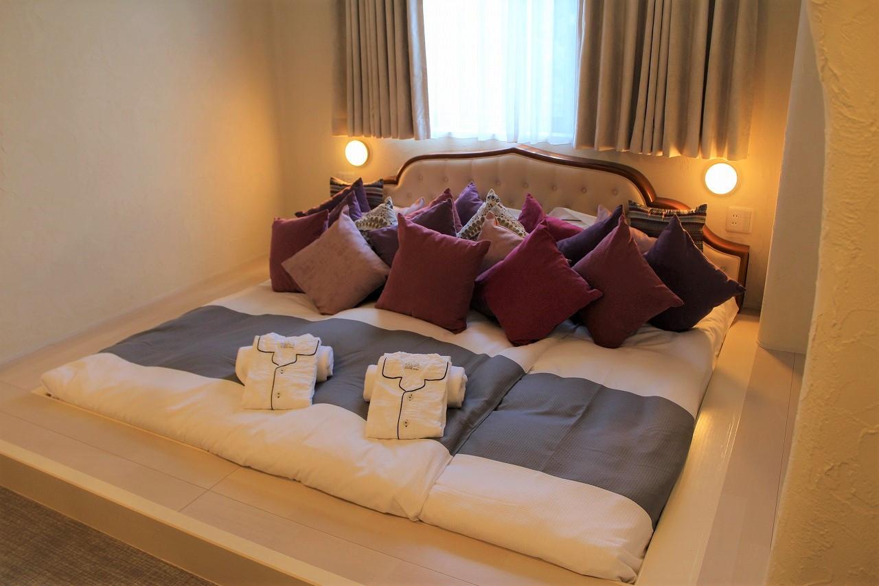 コンセプトルームのベッド