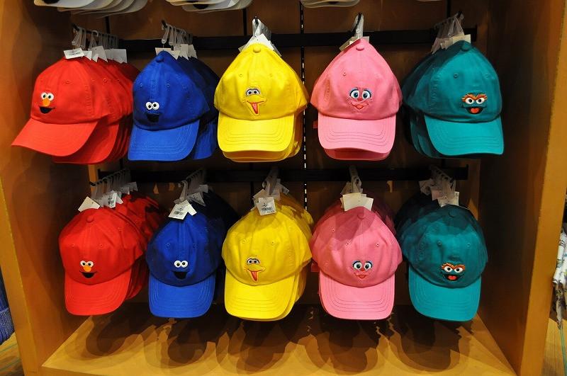 セサミストリートの帽子/USJロデオドライブスーベニア店内