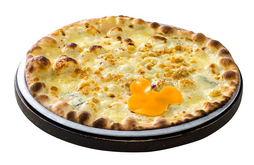 ピッツァ、カナーレ・ベッロ(5種のチーズ)