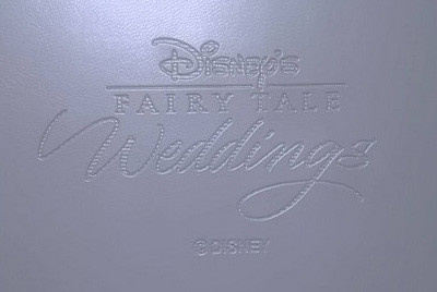 ディズニーウエディングプログラムファイル