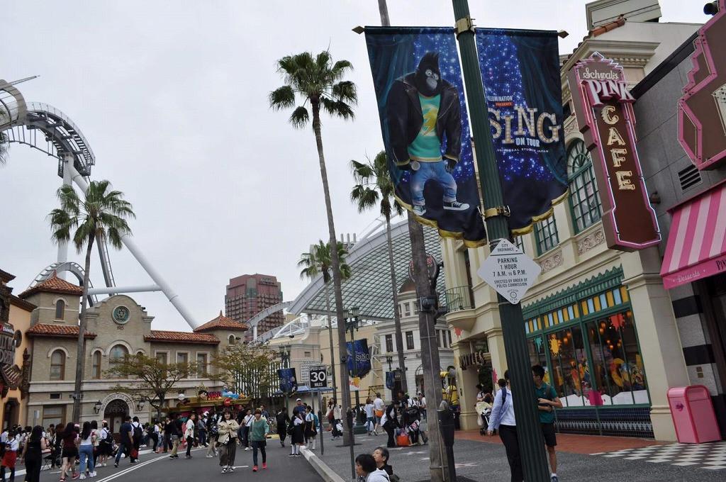 USJのハリウッドエリア