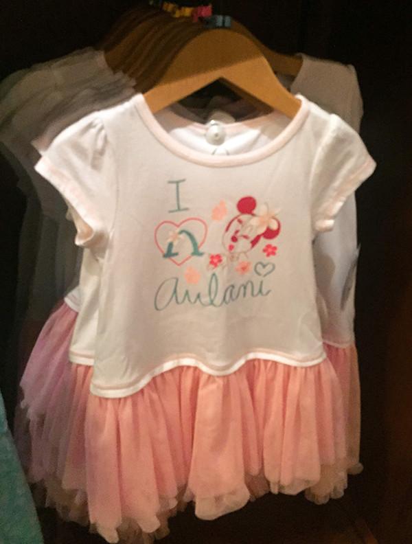 アウラニ限定ミニーの子ども服