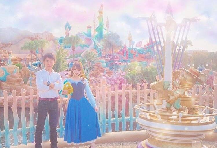 ディズニーカップル仮装①アリエル&エリック王子