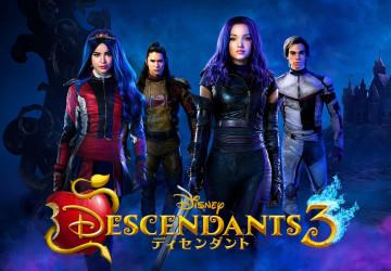 【ネタバレ注意】「ディセンダント3」のあらすじ&新キャラクターまとめ!日本初放送日をチェック!