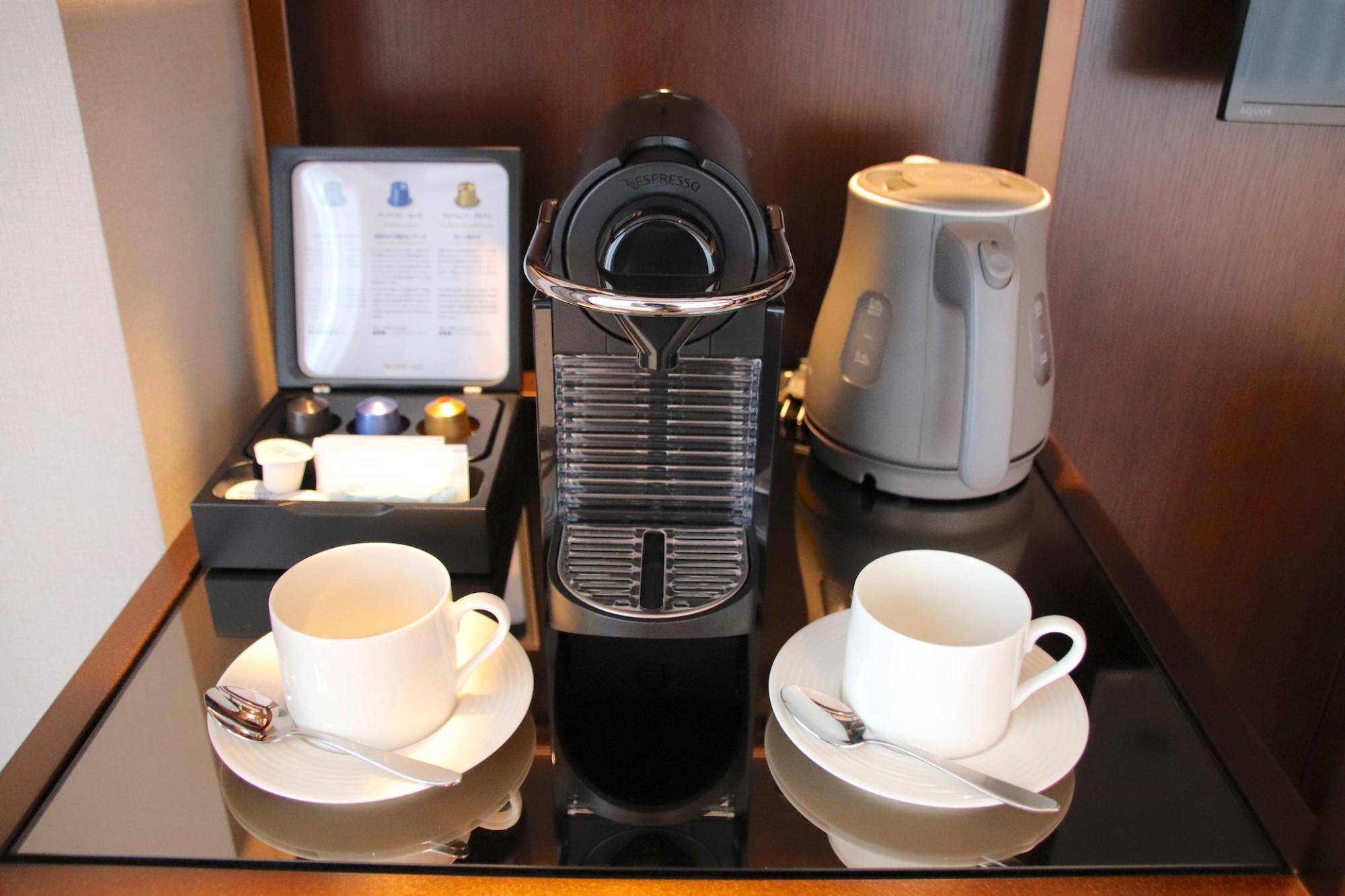 ネスプレッソのコーヒーマシン