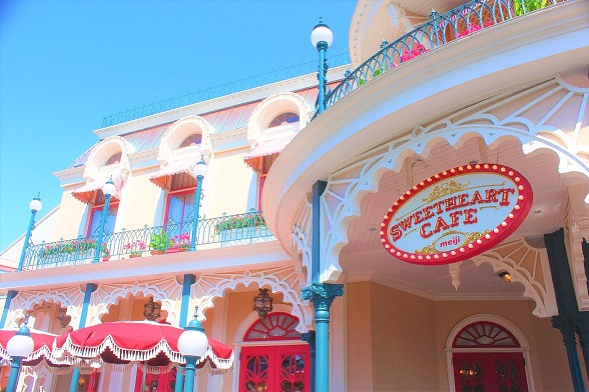 ディズニーランドのパンは、スウィートハート・カフェで買える!
