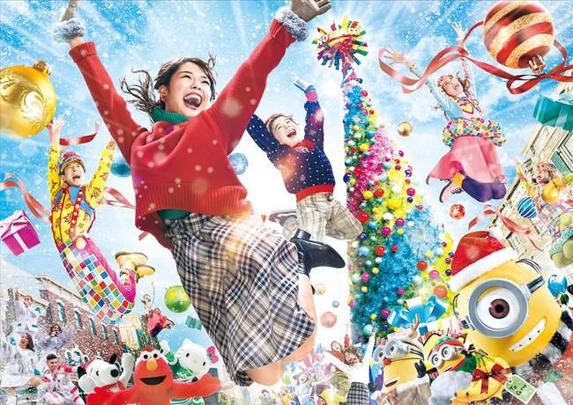 ユニバーサル・スタジオ・ジャパンのクリスマス2020