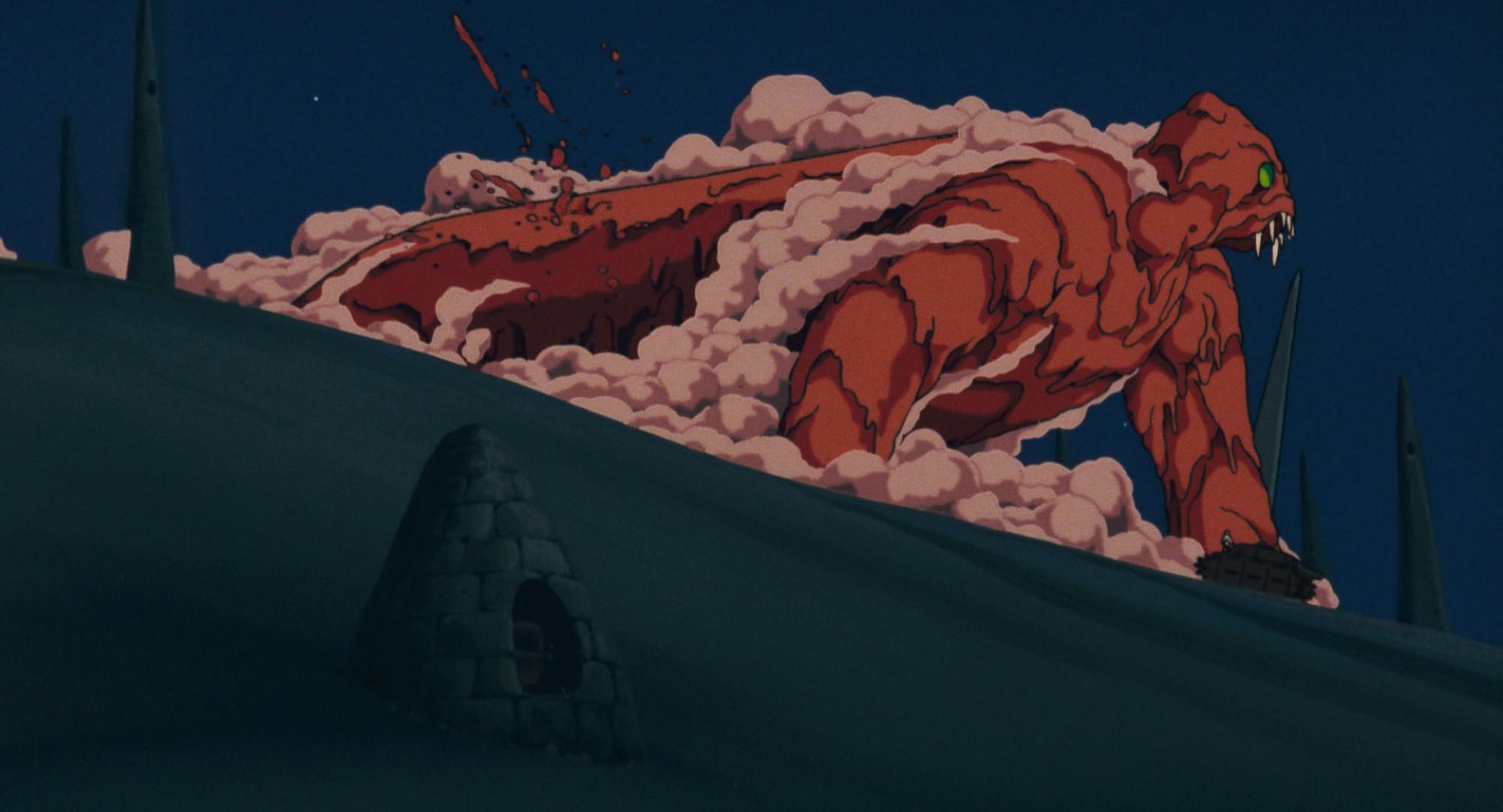映画版では不完全な姿のまま終わる巨神兵