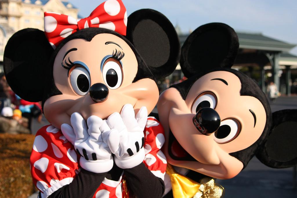 東京ディズニーランド<br />ミッキーとミニー